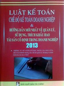 luật kế toán 2013