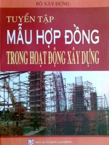 Mẫu hợp đồng xây dựng mới nhất 2013