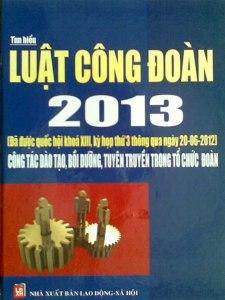 luật công đoàn mới nhất 2013